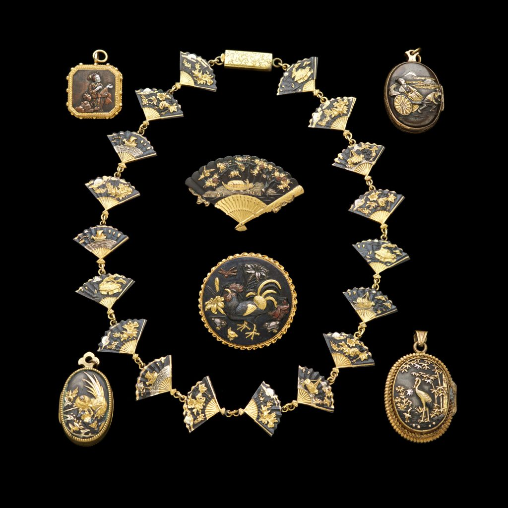 Antique japanese jewellery