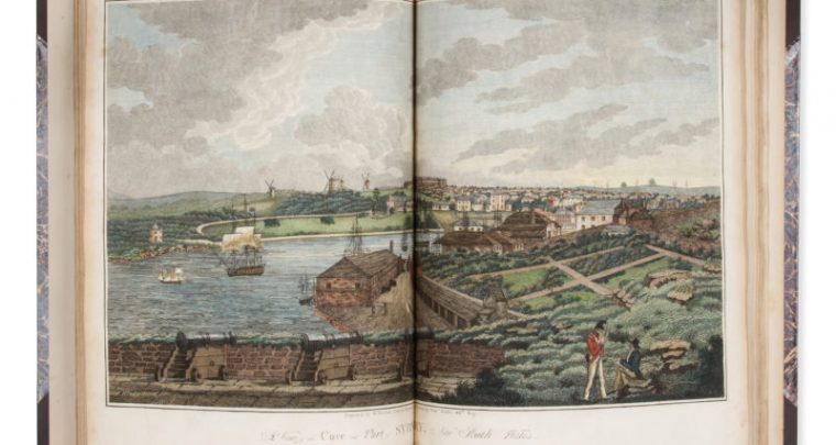 # 15616  WALLIS, Captain James (1785? - 1858)  An historical account of the Colony of New South Wales and its dependent settlements;